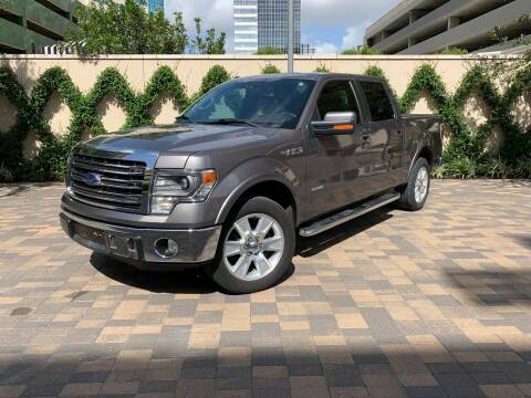 2013 Ford F-150 for sale at ROGERS MOTORCARS in Houston TX