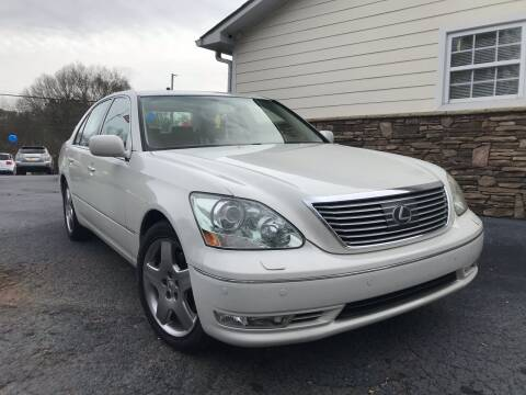 2005 Lexus LS 430 for sale at No Full Coverage Auto Sales in Austell GA