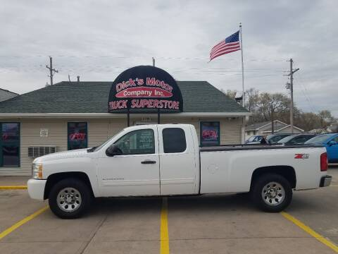 2011 Chevrolet Silverado 1500 for sale at DICK'S MOTOR CO INC in Grand Island NE