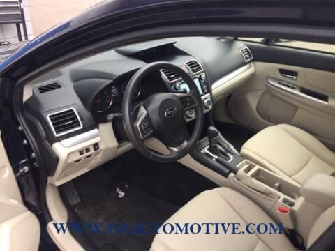 2016 Subaru Impreza for sale at J & M Automotive in Naugatuck CT