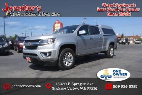2017 Chevrolet Colorado for sale at Jennifer's Auto Sales in Spokane Valley WA
