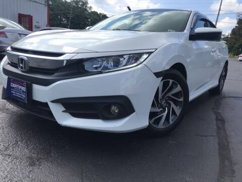 2016 Honda Civic for sale at Certified Auto Exchange in Keyport NJ