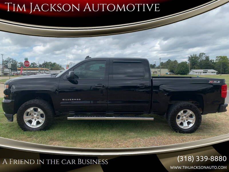 2017 Chevrolet Silverado 1500 for sale at Tim Jackson Automotive in Jonesville LA