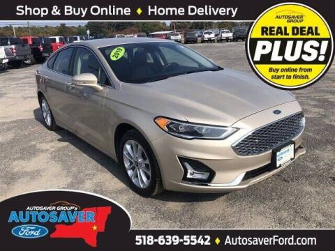 2019 Ford Fusion Energi for sale at Autosaver Ford in Comstock NY