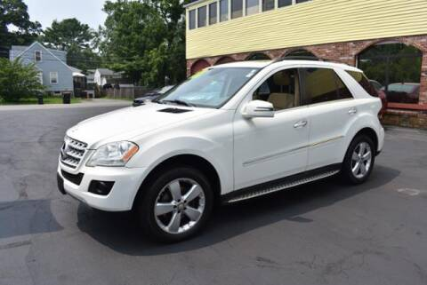 2011 Mercedes-Benz M-Class for sale at Absolute Auto Sales, Inc in Brockton MA