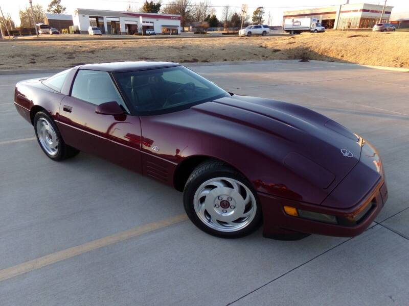 1993 Chevrolet Corvette for sale at Calvary Motors, Inc. in Bixby OK