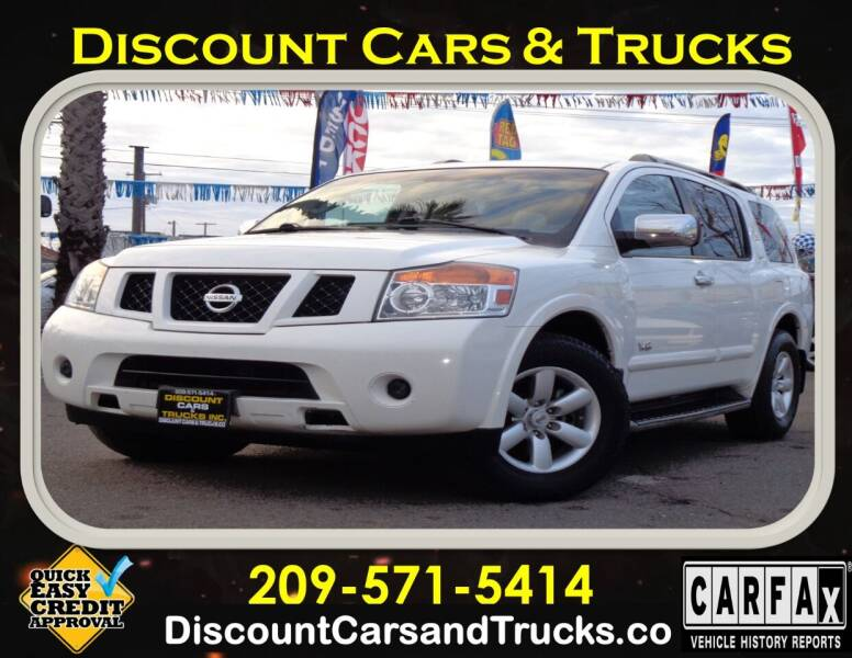 2008 Nissan Armada for sale at Discount Cars & Trucks in Modesto CA