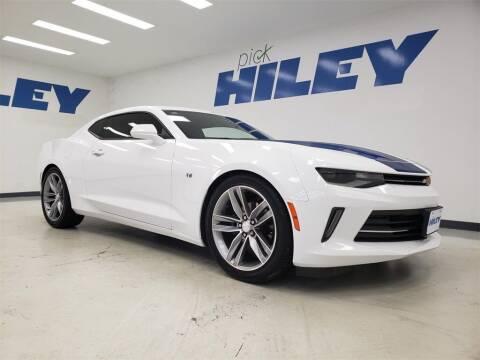 2018 Chevrolet Camaro for sale at HILEY MAZDA VOLKSWAGEN of ARLINGTON in Arlington TX