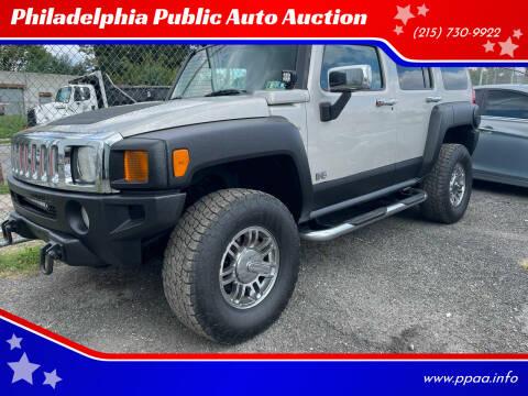 2006 HUMMER H3 for sale at Philadelphia Public Auto Auction in Philadelphia PA