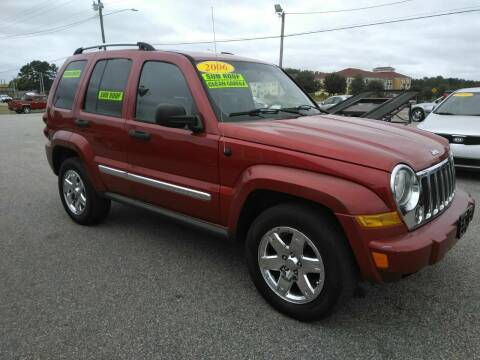 2006 Jeep Liberty for sale at Kelly & Kelly Supermarket of Cars in Fayetteville NC