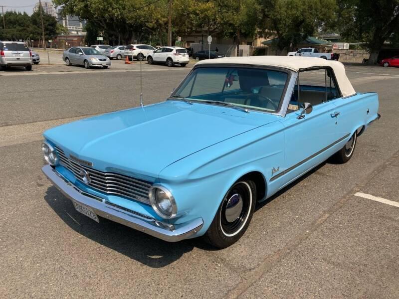 1964 Plymouth Valiant for sale at California Automobile Museum in Sacramento CA