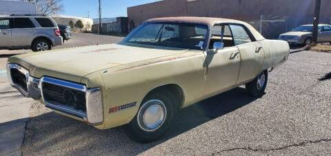 1972 Plymouth Fury for sale at One Community Auto LLC in Albuquerque NM