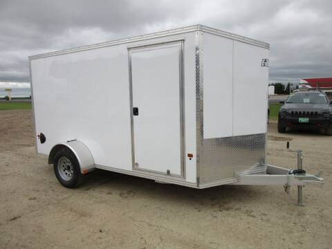 2020 EZ-Hauler 6' x 12'   ALL ALUMINUM FRAME for sale at Nore's Auto & Trailer Sales - Enclosed Trailers in Kenmare ND