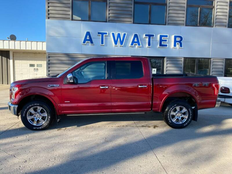 2015 Ford F-150 for sale at Atwater Ford Inc in Atwater MN