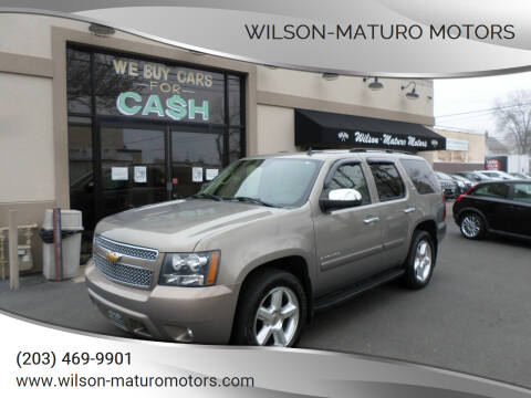 2007 Chevrolet Tahoe for sale at Wilson-Maturo Motors in New Haven CT