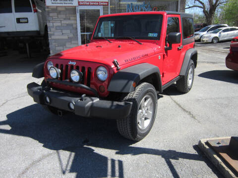 2010 Jeep Wrangler for sale at Marks Automotive Inc. in Nazareth PA