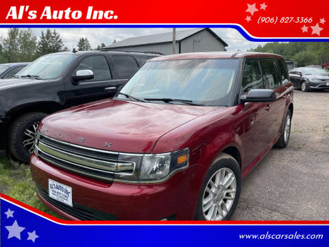 2013 Ford Flex for sale at Al's Auto Inc. in Bruce Crossing MI