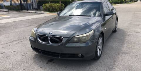 2007 BMW 5 Series for sale at Eden Cars Inc in Hollywood FL