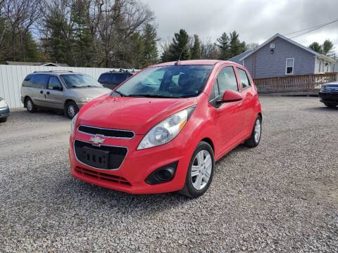 2014 Chevrolet Spark for sale at Hilltop Auto in Clare MI