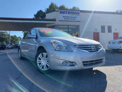 2012 Nissan Altima for sale at Automan Auto Sales, LLC in Norcross GA