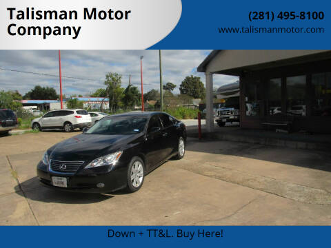 2007 Lexus ES 350 for sale at Don Jacobson Automobiles in Houston TX