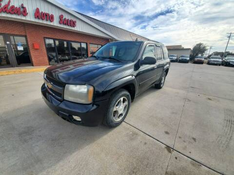 2008 Chevrolet TrailBlazer for sale at Eden's Auto Sales in Valley Center KS