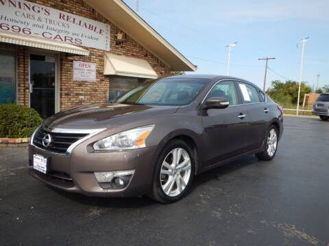 2013 Nissan Altima for sale at Browning's Reliable Cars & Trucks in Wichita Falls TX
