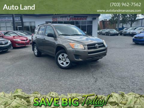 2011 Toyota RAV4 for sale at Auto Land in Manassas VA