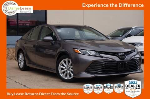 2018 Toyota Camry for sale at Dallas Auto Finance in Dallas TX