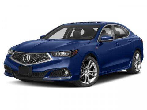 2019 Acura TLX for sale at STG Auto Group in Montclair CA