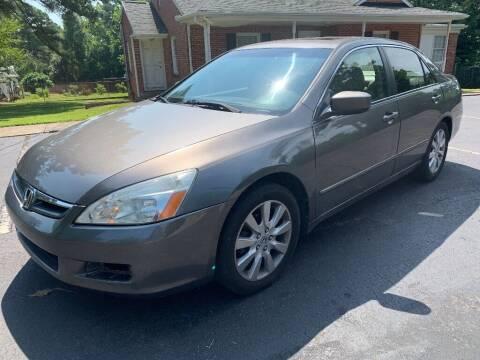 2007 Honda Accord for sale at Deme Motors in Raleigh NC