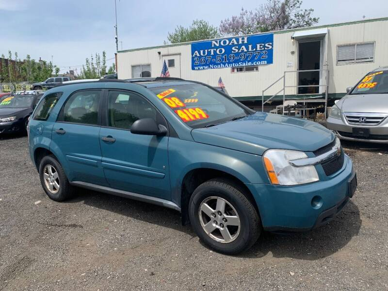 2008 Chevrolet Equinox for sale at Noah Auto Sales in Philadelphia PA