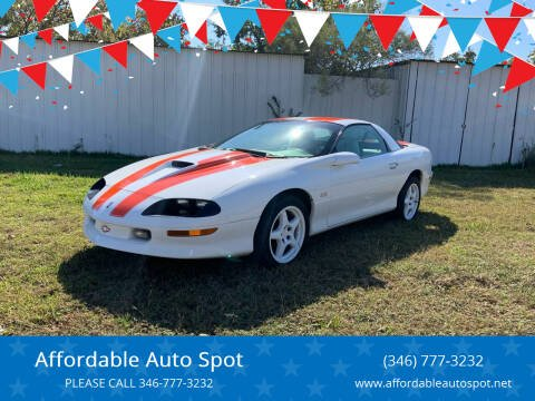 1997 Chevrolet Camaro for sale at Affordable Auto Spot in Houston TX