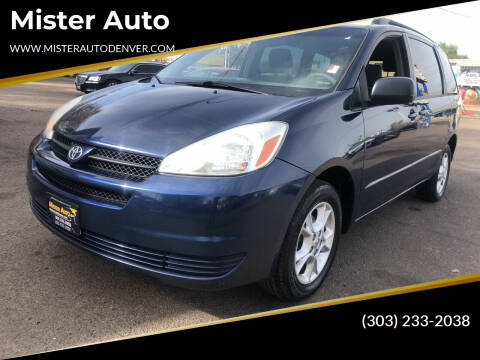 2005 Toyota Sienna for sale at Mister Auto in Lakewood CO