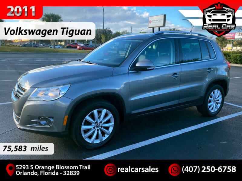 2011 Volkswagen Tiguan for sale at Real Car Sales in Orlando FL
