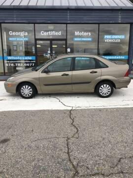 2003 Ford Focus for sale at Georgia Certified Motors in Stockbridge GA