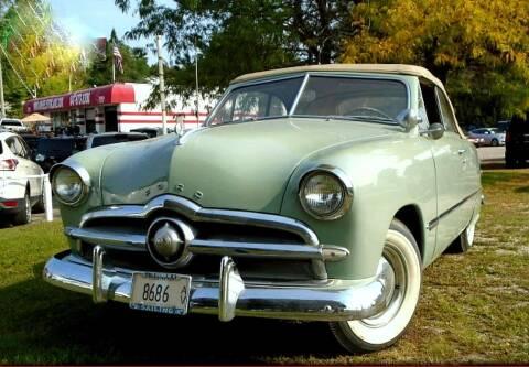 1949 Ford Crestline for sale at Black Tie Classics in Stratford NJ