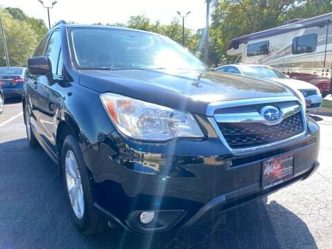2015 Subaru Forester for sale at Mike's Auto Sales INC in Chesapeake VA