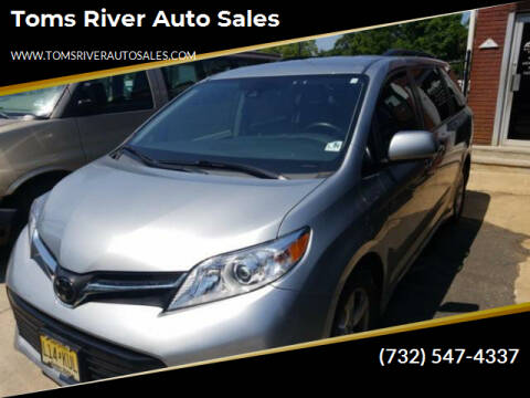 2019 Toyota Sienna for sale at Toms River Auto Sales in Toms River NJ