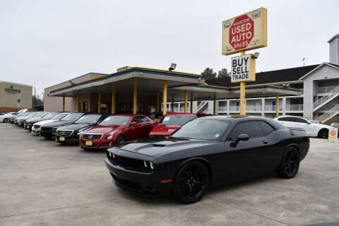 2016 Dodge Challenger for sale at Houston Used Auto Sales in Houston TX