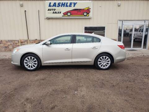 2013 Buick LaCrosse for sale at Lashley Auto Sales in Mitchell NE
