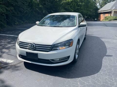2015 Volkswagen Passat for sale at SMT Motors in Roswell GA