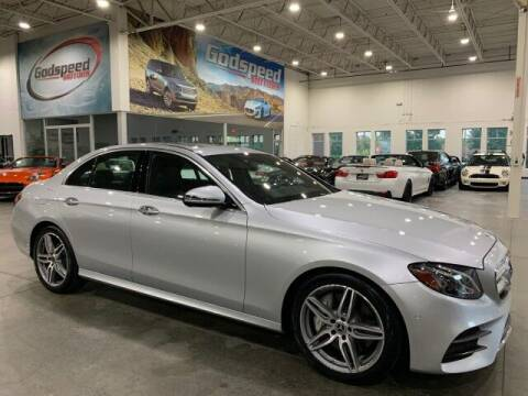 2018 Mercedes-Benz E-Class for sale at Godspeed Motors in Charlotte NC