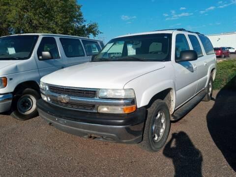 1996 Chevrolet Suburban for sale at L & J Motors in Mandan ND