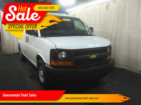 2014 Chevrolet Express Cargo for sale at Government Fleet Sales in Kansas City MO