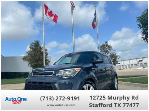 2015 Kia Soul for sale at Auto One USA in Stafford TX