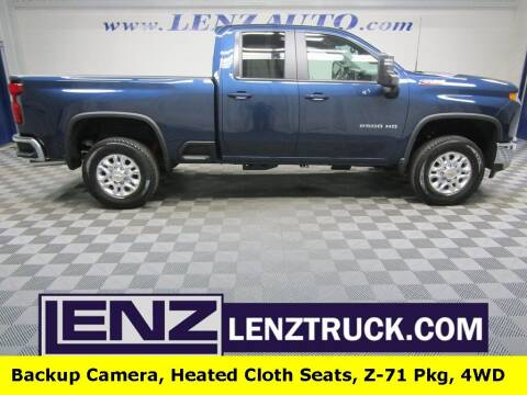2021 Chevrolet Silverado 2500HD for sale at LENZ TRUCK CENTER in Fond Du Lac WI