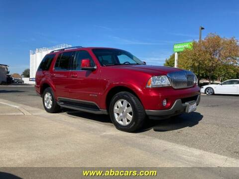 2005 Lincoln Aviator for sale at About New Auto Sales in Lincoln CA