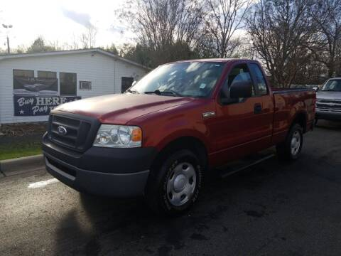 2007 Ford F-150 for sale at TR MOTORS in Gastonia NC
