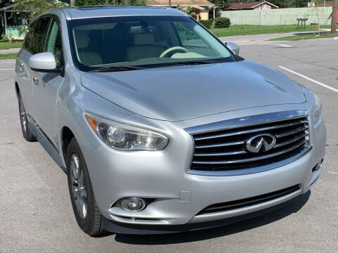 2014 Infiniti QX60 for sale at Consumer Auto Credit in Tampa FL
